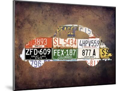 Travel On Route 66-Sheldon Lewis-Mounted Art Print