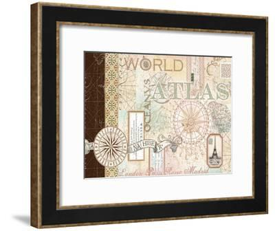 World Atlas 1-Ophelia & Co^-Framed Art Print