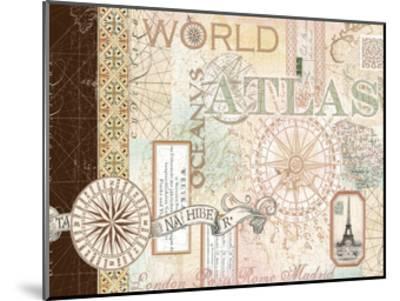World Atlas 1-Ophelia & Co^-Mounted Art Print