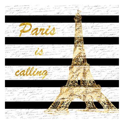 Black Paris Romance-Sheldon Lewis-Framed Art Print