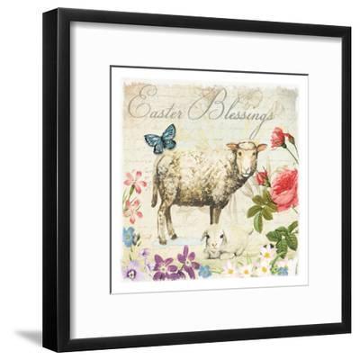Easter Garden 6-Ophelia & Co^-Framed Art Print