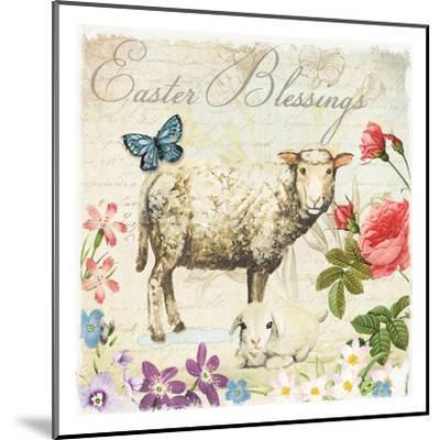 Easter Garden 6-Ophelia & Co^-Mounted Art Print