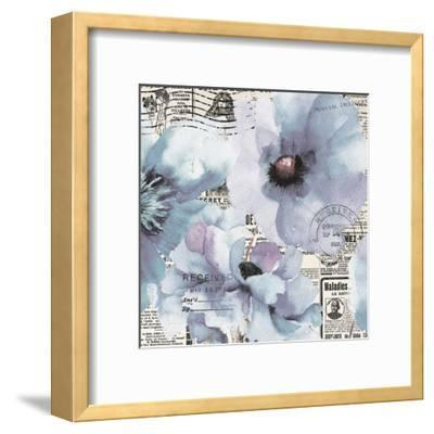 Flowers 20-Victoria Brown-Framed Art Print