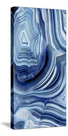 Agate Indigo I-Danielle Carson-Stretched Canvas Print