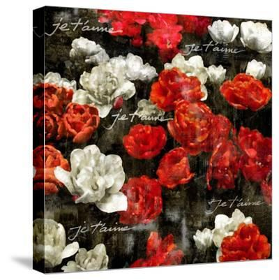 Je Taime Roses-Kate Bennett-Stretched Canvas Print