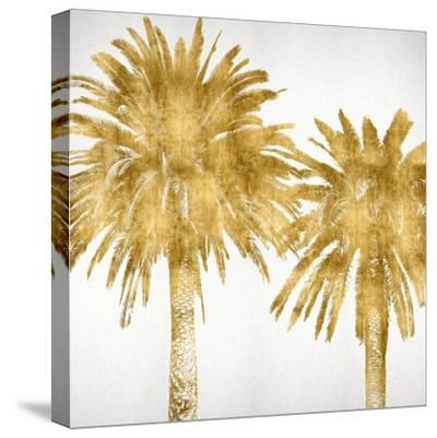 Palms In Gold IV-Kate Bennett-Stretched Canvas Print