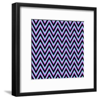 Chevron 2-Sheldon Lewis-Framed Art Print