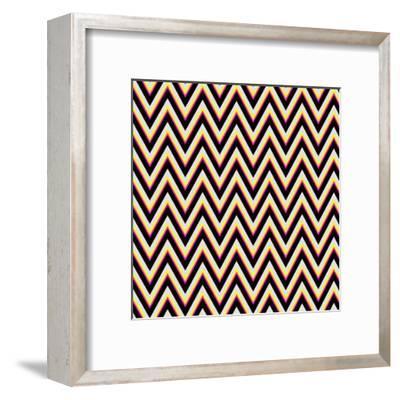 Chevron 4-Sheldon Lewis-Framed Art Print