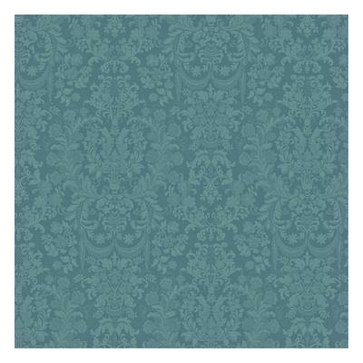 Floral Pattern-Jace Grey-Framed Art Print