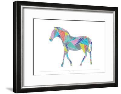 Colorpoly Horsia-Pam Varacek-Framed Art Print