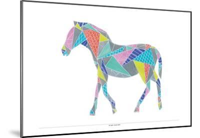 Colorpoly Horsia-Pam Varacek-Mounted Art Print