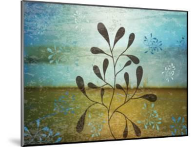 Contemporary Florals 1-Melody Hogan-Mounted Art Print