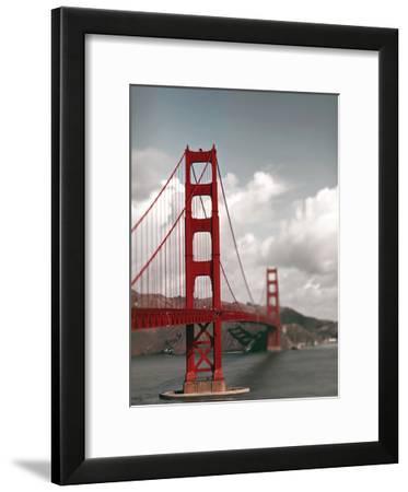 Big Red-Tracey Telik-Framed Art Print