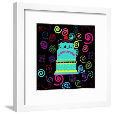 Birthday Fun-Sheldon Lewis-Framed Art Print