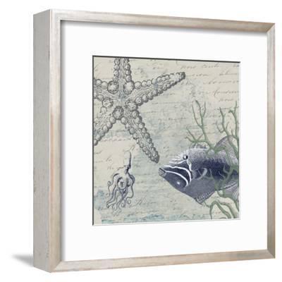 Blue Ocean-Sheldon Lewis-Framed Art Print