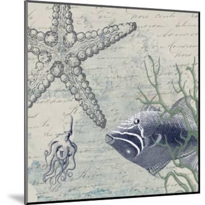 Blue Ocean-Sheldon Lewis-Mounted Art Print