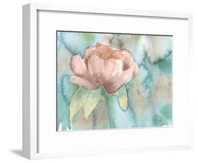 Blush Rose-Beverly Dyer-Framed Art Print