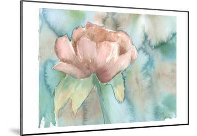 Blush Rose-Beverly Dyer-Mounted Art Print