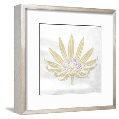 Mellow Flower-Sheldon Lewis-Framed Art Print