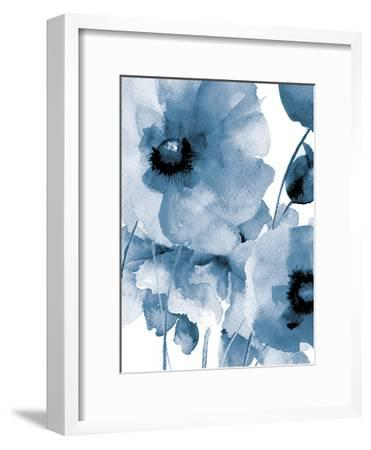 Raining Flowers-Victoria Brown-Framed Art Print