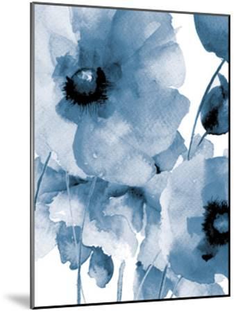 Raining Flowers-Victoria Brown-Mounted Art Print