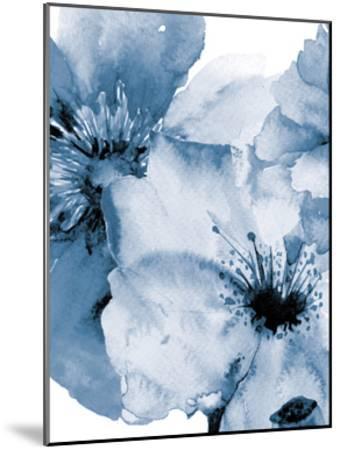 Raining Flowers 2-Victoria Brown-Mounted Art Print