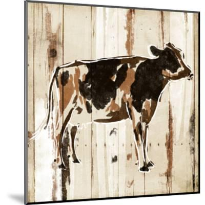 How Now Brown Cow-OnRei-Mounted Art Print