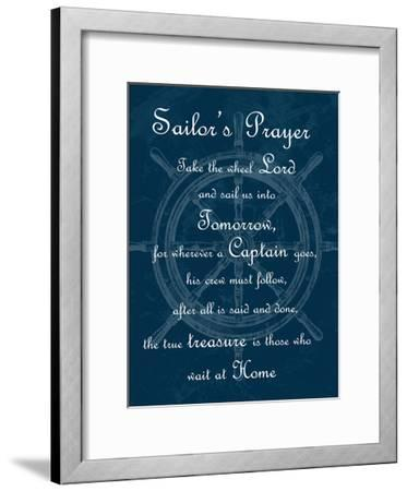 Sailor's Prayer 1-Sheldon Lewis-Framed Art Print