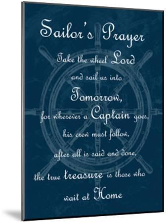 Sailor's Prayer 1-Sheldon Lewis-Mounted Art Print