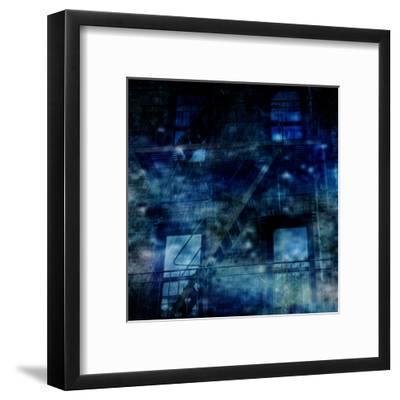 Nostrand Avenue Blues-Sheldon Lewis-Framed Art Print