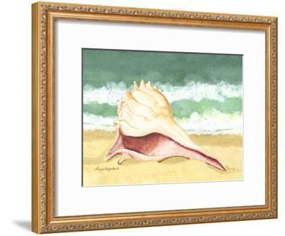 Seashell I-Laurie Korsgaden-Framed Art Print