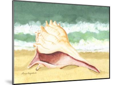 Seashell I-Laurie Korsgaden-Mounted Art Print