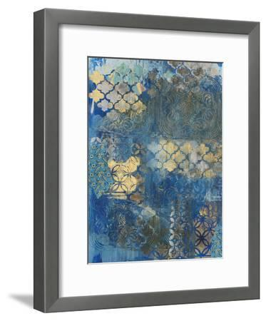 Ornate Azul D2-Smith Haynes-Framed Art Print