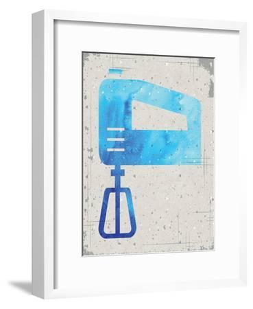 Kitchen Watercolor Brights Ragged 02-Melody Hogan-Framed Art Print