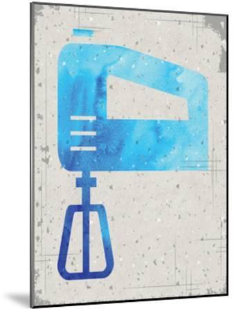 Kitchen Watercolor Brights Ragged 02-Melody Hogan-Mounted Art Print