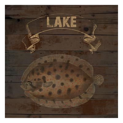 Lake-Sheldon Lewis-Framed Art Print
