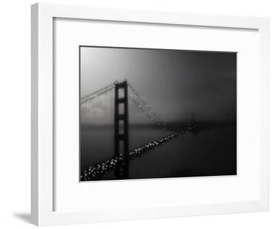 Golden Gate Bridge-Tracey Telik-Framed Art Print