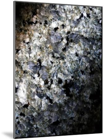 Gray Minerals 1-Sandro De Carvalho-Mounted Art Print