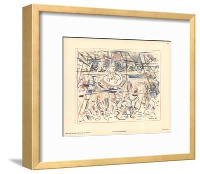Equestrians-John Marin-Framed Art Print