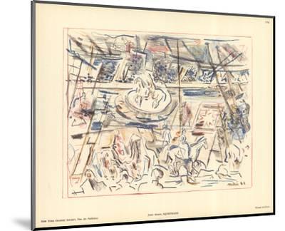 Equestrians-John Marin-Mounted Art Print
