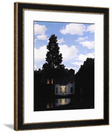 L'Empire des Lumieres-Rene Magritte-Framed Art Print