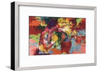 Rocky Vs. Apollo-LeRoy Neiman-Framed Art Print