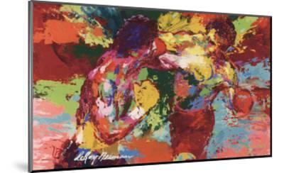 Rocky Vs. Apollo-LeRoy Neiman-Mounted Art Print