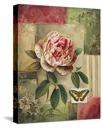 Rose and Butterfly-Lisa Audit-Stretched Canvas Print