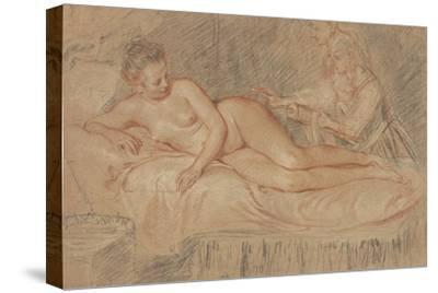 The Remedy-Jean-Antoine Watteau-Stretched Canvas Print
