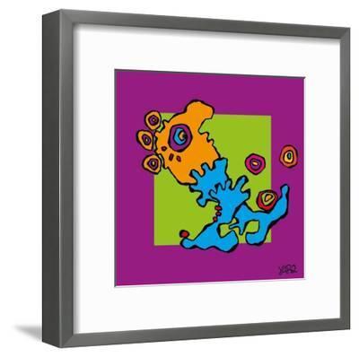 Juggling Feet-Yaro-Framed Art Print