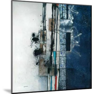 Nuit d'encre-Sylvie Cloutier-Mounted Art Print