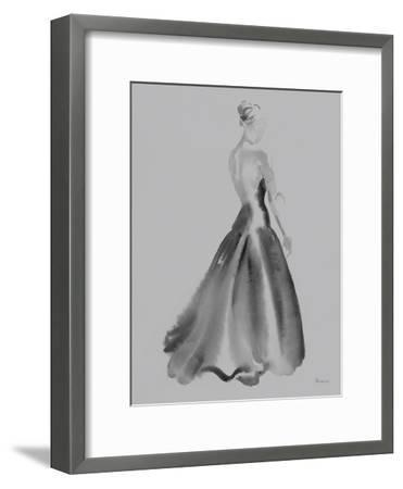 Evening Elegance - Opal-Deborah Pearce-Framed Art Print