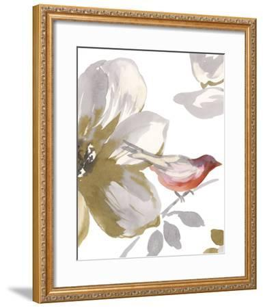 Bird Chatter I-Sandra Jacobs-Framed Art Print