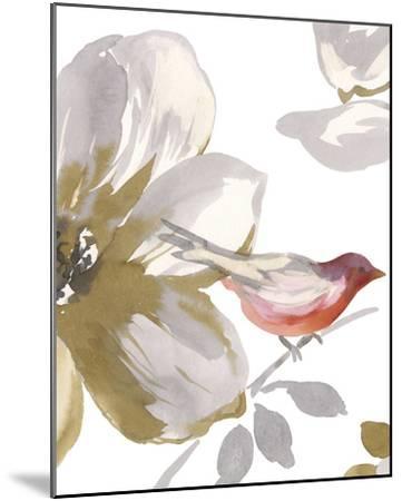 Bird Chatter I-Sandra Jacobs-Mounted Art Print